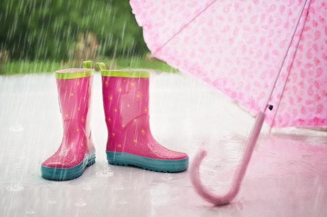 Je smelt niet van een beetje regen