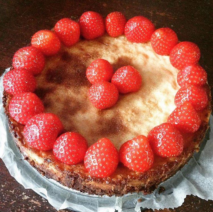 Recept: White Chocolate Cheesecake
