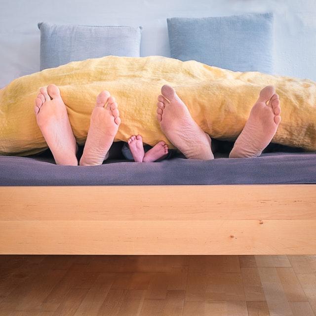 Samen slapen of juist niet?