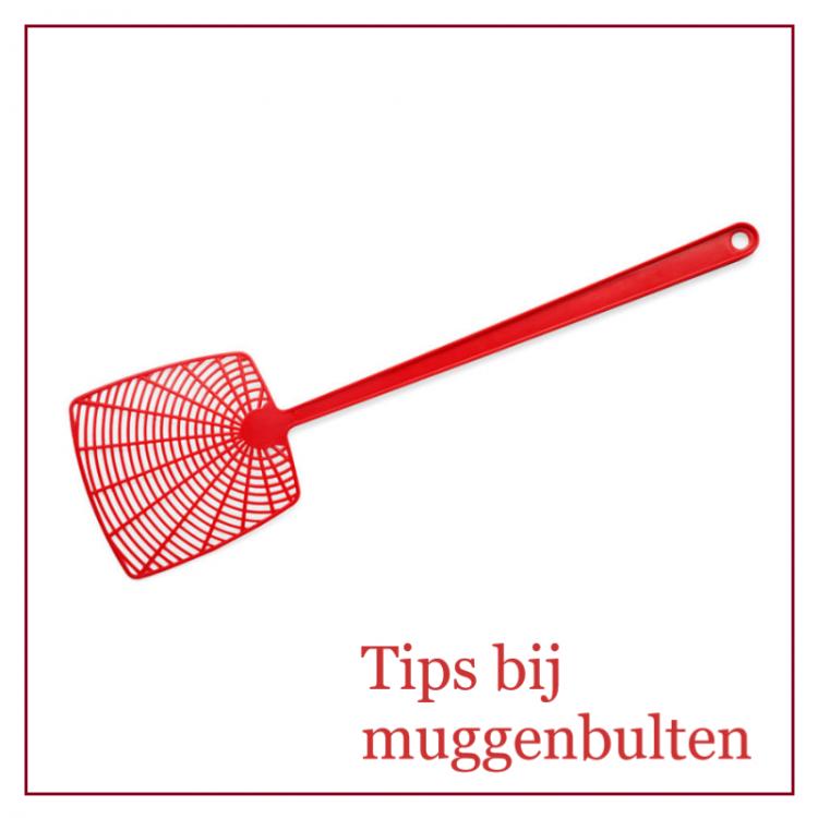 Tips bij muggenbulten