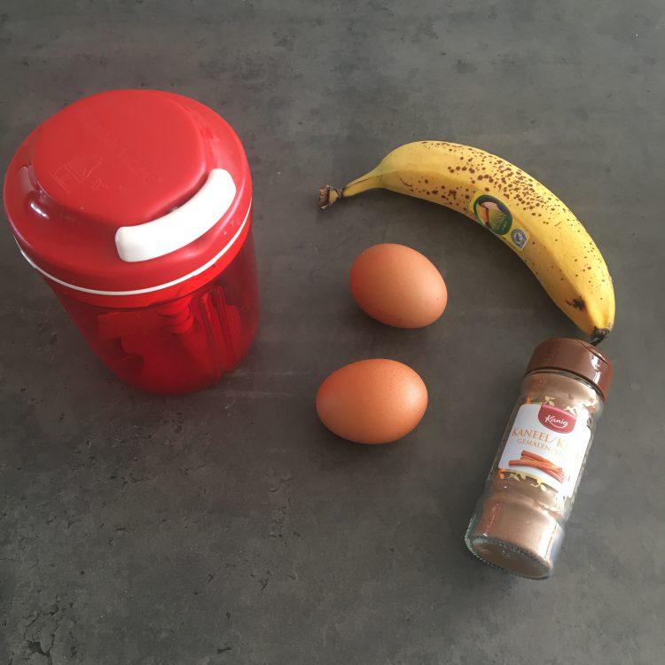 Bananenpannenkoeken met 3 ingrediënten