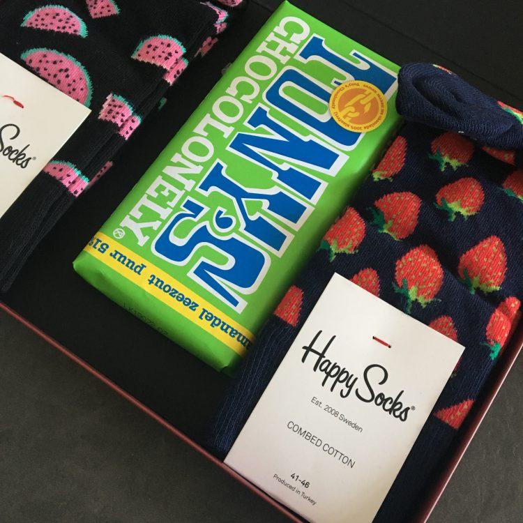 Kom fris en fruitig voor de dag met Happy Socks