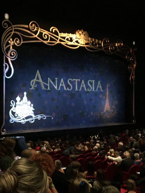 De galapremière van Anastasia de musical