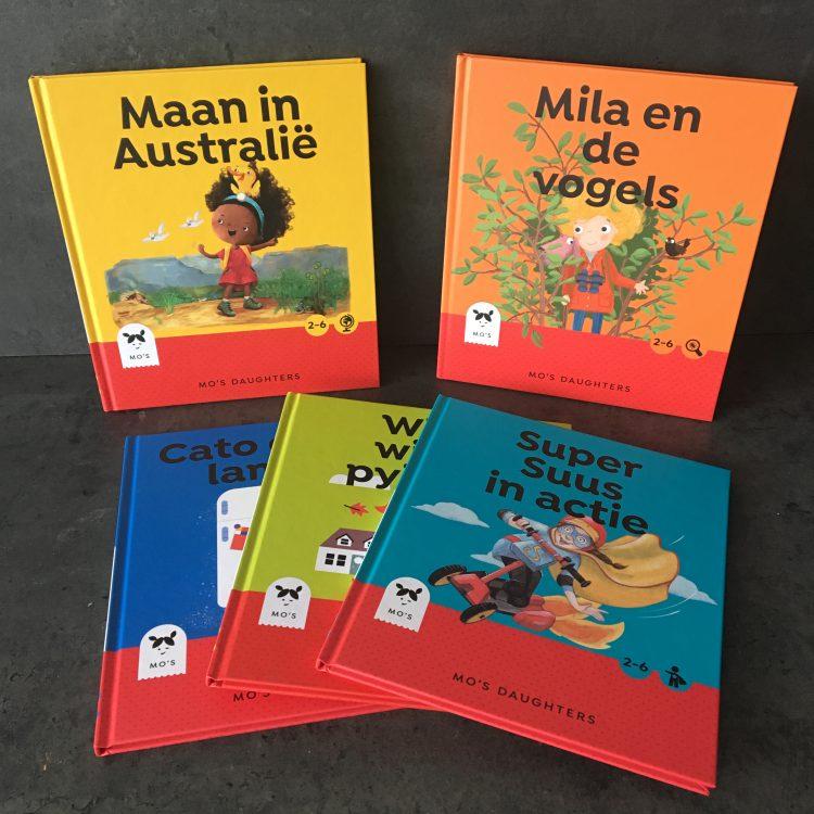 Winnaar Mo's Daughters boekenpakket