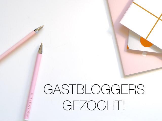 Gastbloggers met een verhaal gezocht!