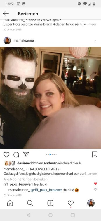 Verhaal op vrijdag: Leanne maakt een feest van Halloween