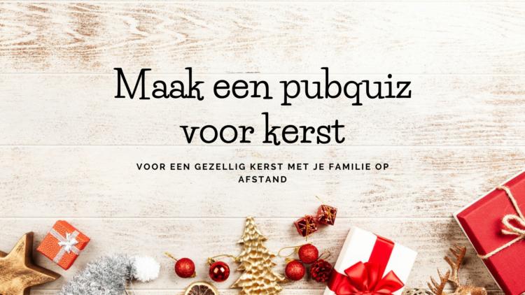 KERSTBLOGHOP: Maak een Pubquiz voor kerst
