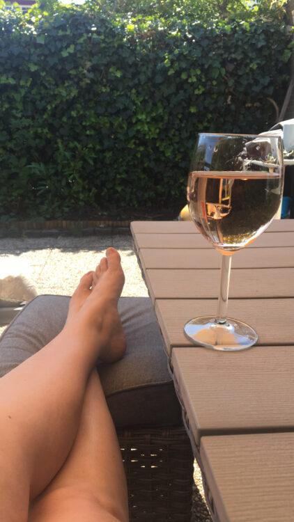 tuinset wijn