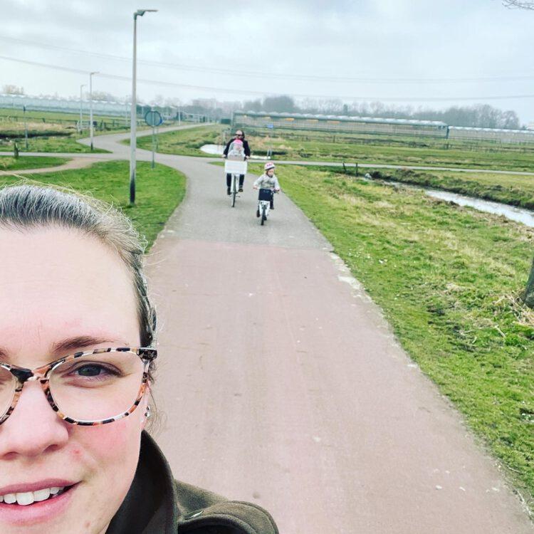 februari fietsen