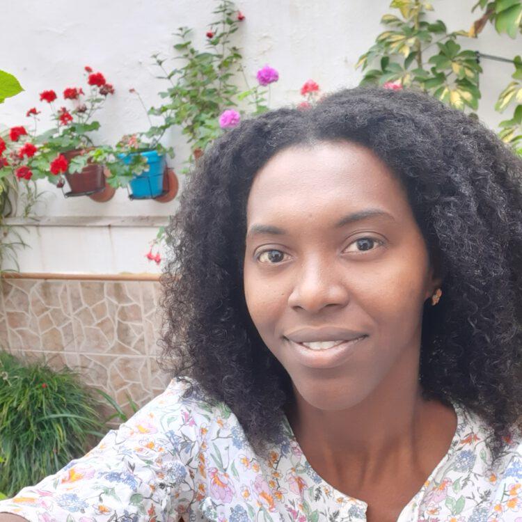 Naomi in Sevilla.