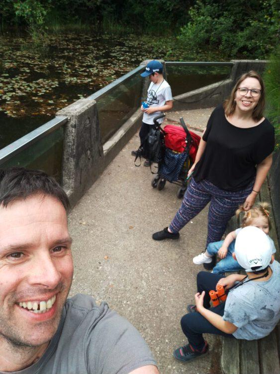 Johanneke en haar gezin.