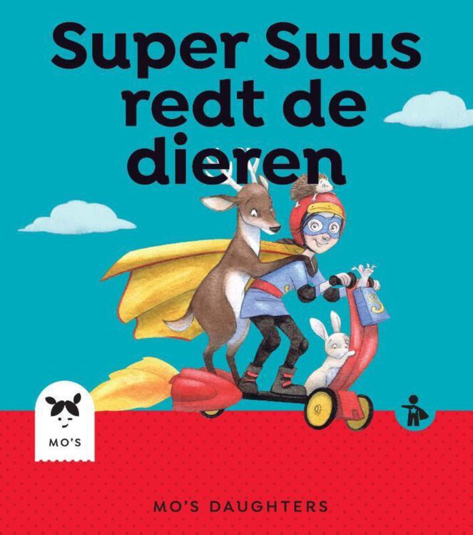 Super Suus redt de dieren boekcover.