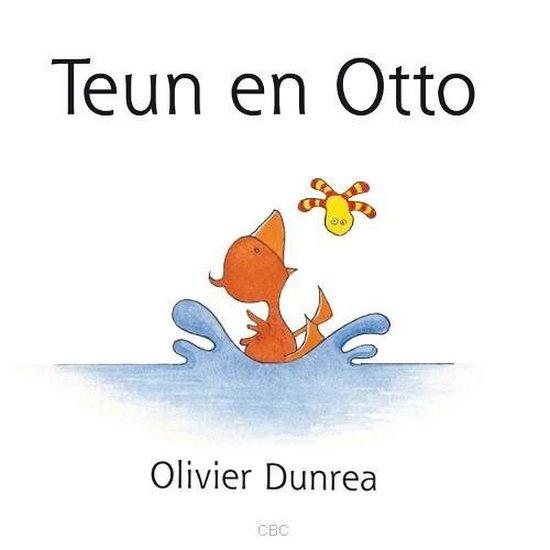 Voorleesboek van Teun en Otto.
