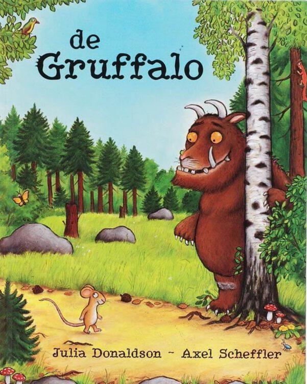 Pippa's favoriete voorleesboeken: de Gruffalo.